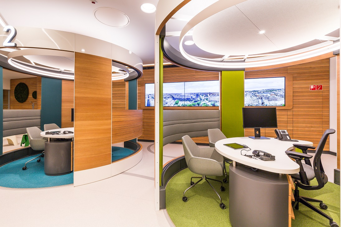OTP Innovation Bank account - Building acoustical and room acoustical design (2018)