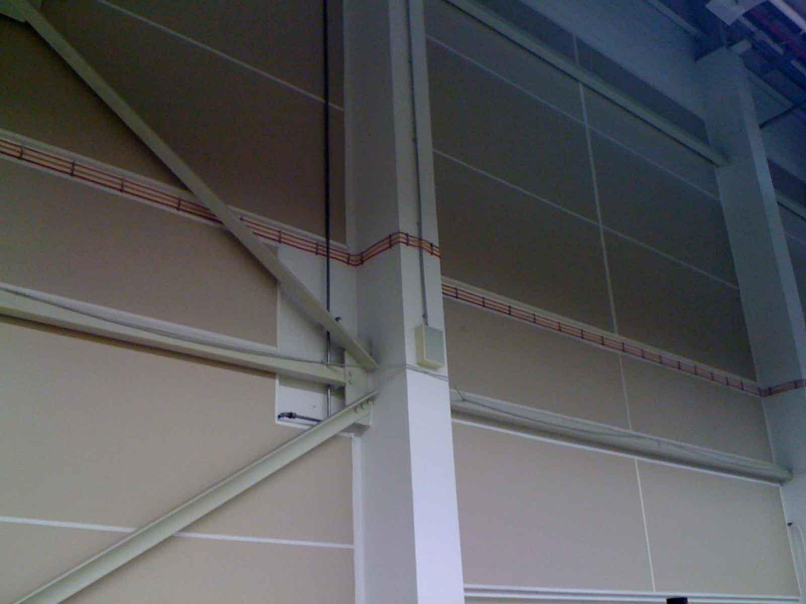LEGO Manufacturing Nyíregyháza (Gyárcsarnok zajcsökkentés) - Teremakusztikai tervezés (2010-2012)